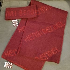 Henri Bendel Cashmere Logo Scarf and Headband Set
